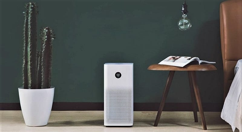An air purifier rids your home of airborne impurities including odors, smoke, dust, and pet dander.