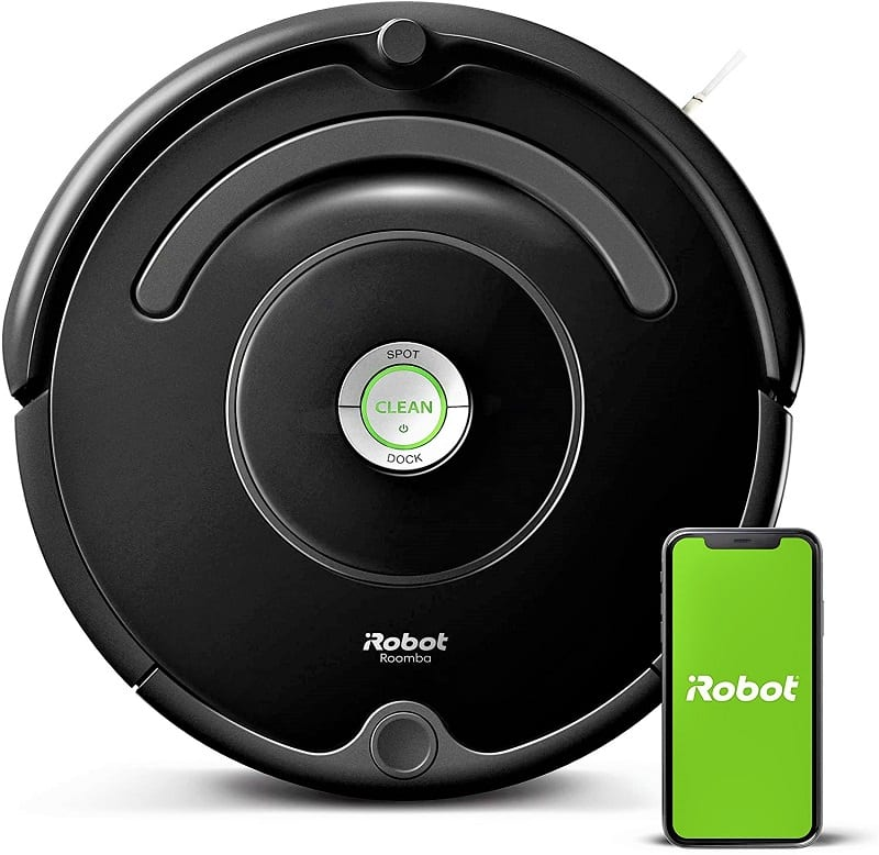 The Roomba 675 is iRoomba's most affordable model with Wi-Fi connectivity.