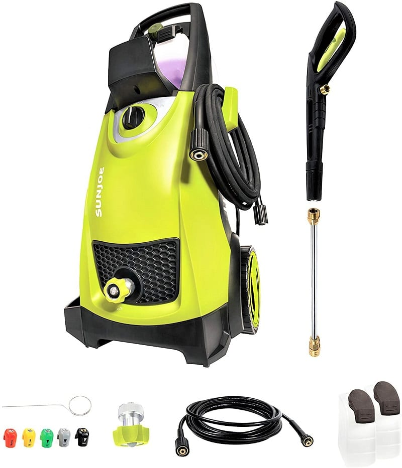 Unless you need to clean a sizeable barn, the Sun Joe SPX3000 2030 is an excellent product for home use.