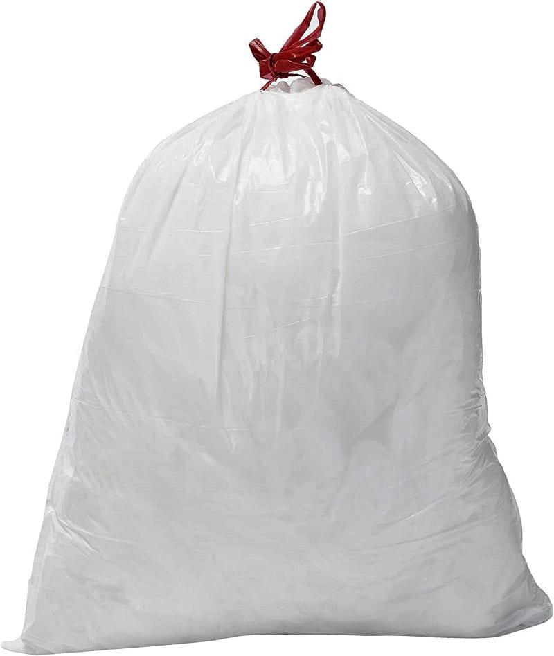 Heavy-duty garbage bags belong in your kit, too.