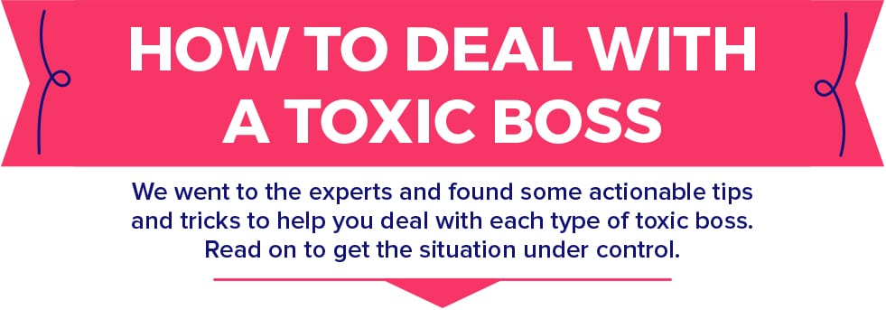 The good news is you don't have to let toxic leadership take you down.