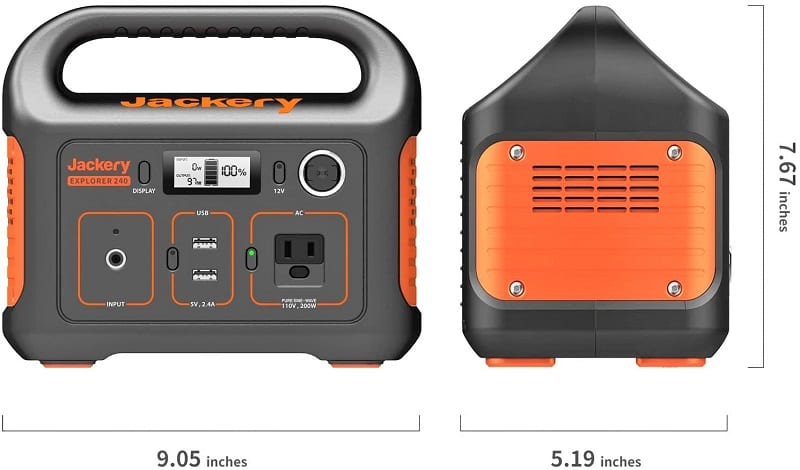 When it comes to portable solar generators, there's always a negotiation between size and capacity. For many, Jackery Power's Solar Explorer 240 brokers the perfect deal between the two.