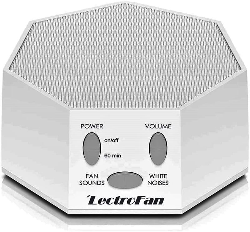 The LectroFan Classic is a favorite among many would-be sleep-deprived people.