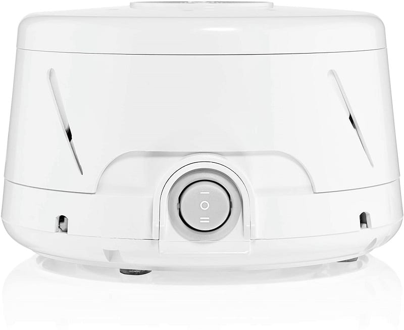 If you prefer an old-fashioned, low-tech machine that produces more subtle noises, go for the Marpac Dohm DS.