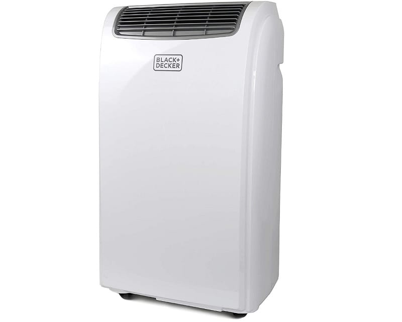 If a window AC isn't an option, consider the Black and Decker BPACT08WT Portable Air Conditioner.