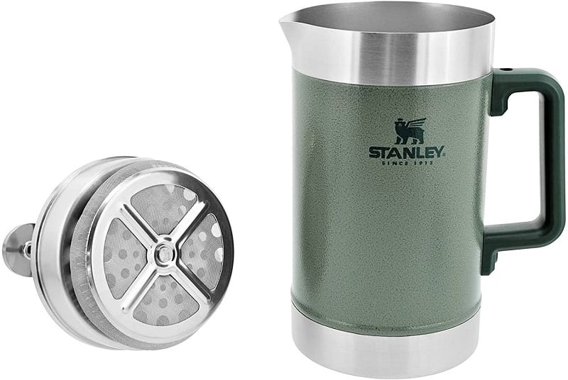 The Stanley Classic Stay Hot 48 Oz French Press is for sharing.