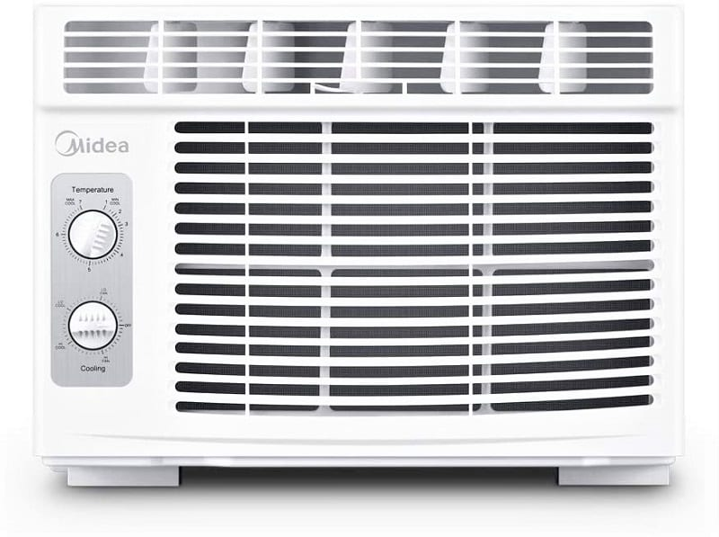 If you don't have central AC but you do have windows, your best option is a window air conditioner.