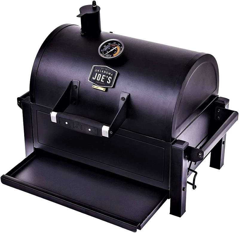 Oklahoma Joe's Rambler Portable Charcoal Grill showed its real worth during our tests. We were impressed by how easy it was to cook on this grill with either direct or indirect heat.