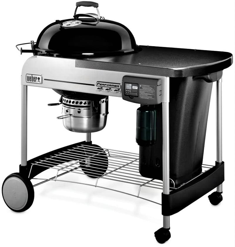 We could find no better premium charcoal grill than the Weber Performer Deluxe Charcoal Grill. This is a grill that offers impressive perks.