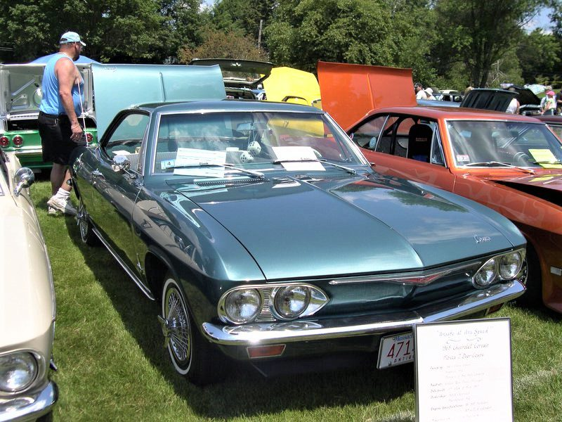 What made the Corvair unique was that it was the only American-designed car that had a rear-mounted, air-cooled engine. But its novel design was also its biggest drawback. The engine placed 60 percent of the car's weight over the rear wheels. This meant that, without good traction, owners easily lost control of the car.
