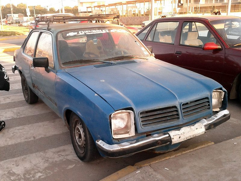 GM had designed a simple, front-engine, RWD car for the masses. That's what the Chevette was. It was only over time that people started disliking how the Chevette looked.