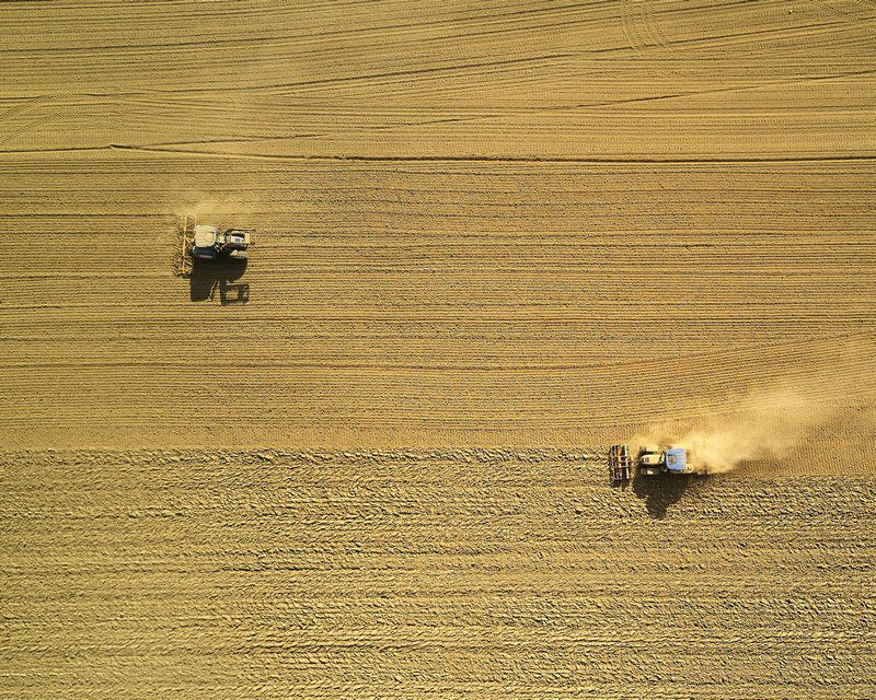 Dust comes from many sources including agriculture and mining.