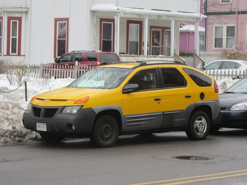The car that takes the Number One slot in this list of flops is the 2000 Pontiac Aztec. Both critics and consumers have derided the look of the Aztec. We say they have good reason to do so.